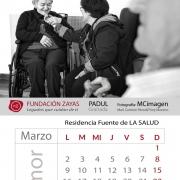 Calendario Solidario Fundación Zayas 2020