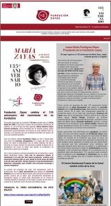 Boletín nº41. Fundación Zayas