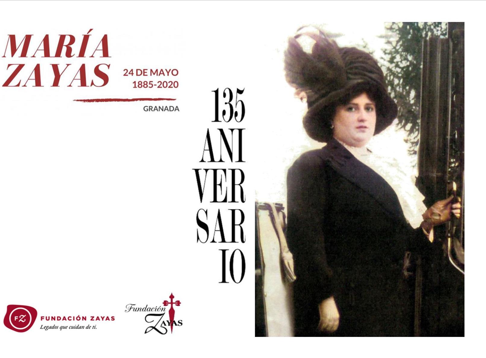 135 aniversario María Zayas