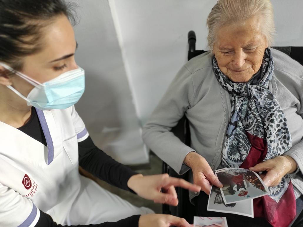 Viaje al Centro de la Memoria. Centro Residencial Fuente de la Salud.